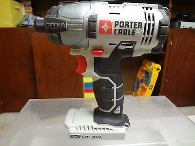 Porter Cable - Pcc641 - 20V Lithium - Cordless Impact Driver - Tool - Works Well