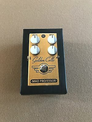 BRAND NEW! Mad Professor Golden Cello Overdrive Pedal - 2nd Edition