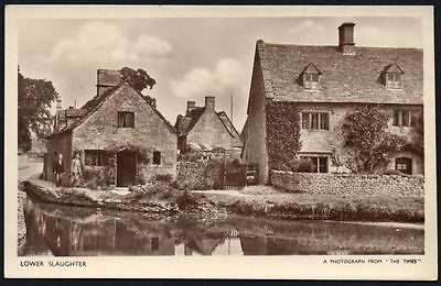 Postcard - Gloucestershire - Lower Slaughter.