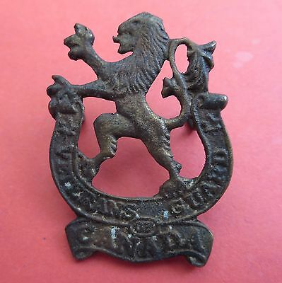 Canadian, The Veterans Guard of Canada Army/Military Hat/Cap Badge