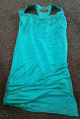 womens green new look top size s