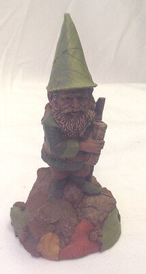 Tom Clark Gnome Robin #5345 Cairn 1997 Figurine Backpack Signed Gc