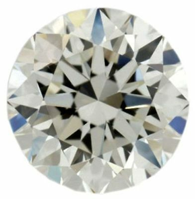 Genuine 1.00 TCW 6.50 mm off white color loose moissanite round brilliant cut
