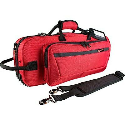 ProTec Protec CONTOURED TRUMPET PRO PAC-RED