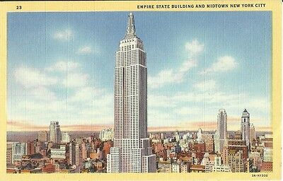 Empire State Building & Midtown New York City, NY