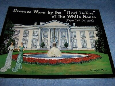 Dresses Worn by First Ladies of the White House Paper dolls