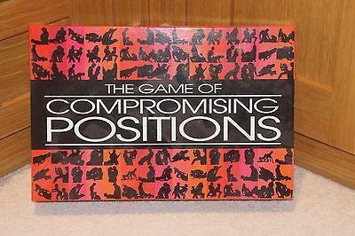 **THE GAME OF COMPROMISING POSITIONS** Fun Adult Bedroom Board Game