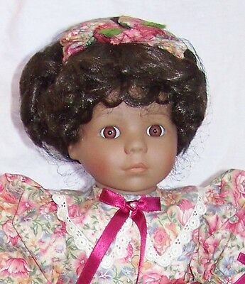 "VICTORIA ASHLEA Cassandra LE Musical Doll 19"" African American NIB perfect gift"