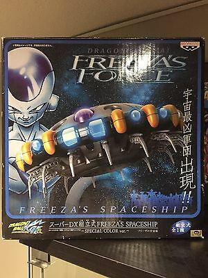 Dragonball Banpresto Freezas Force Special Color Spaceship Ship Opened