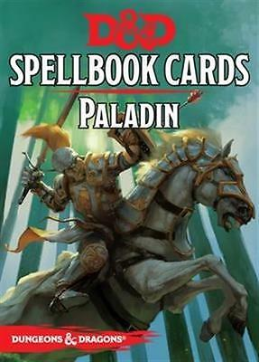 Dungeons and Dragons: RPG Paladin Spell Deck (44 cards) by Galeforce 9  GF973905
