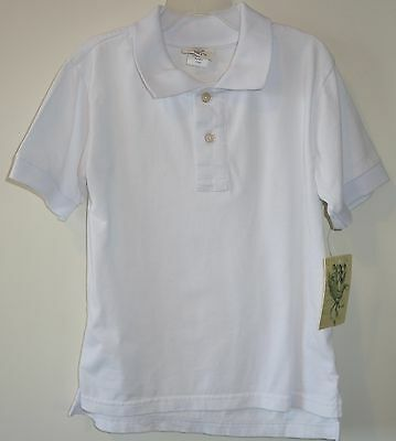 NWT Wes & Willy White Polo Shirt ~ Boy's Size 4/4T