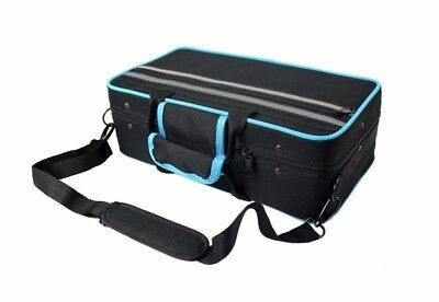 CASE for Bb Clarinet  - with Shoulder Strap - Case ONLY- BLACK / Blue