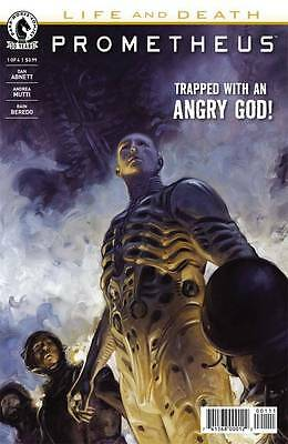 PROMETHEUS LIFE AND DEATH #1, New, First print, Dark Horse (2016)