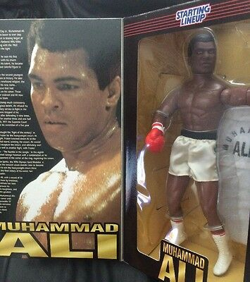 Muhammad Ali 1997 12inch Timeless Legends Starting lineup Figure Doll Boxing