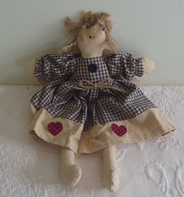 "Guardian Angel Doll Decorative Plush Stuffed 12"" Tall"