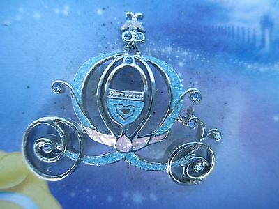 Disney CINDERELLA Pink and blue Glitter COACH PIN - DVD Exclusive