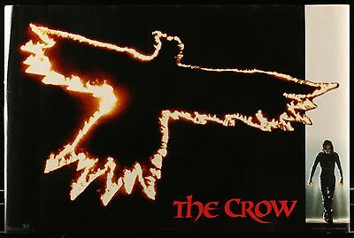 THE CROW Rolled Movie Poster 36 x 23 inches Brandon Lee