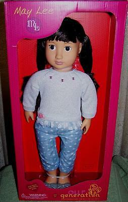 """Our Generation MAY LEE 18"""" Doll in Outfit  New"""