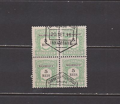 Mozambique- Lot 4518, Mint, NH, Pre cancel Block. Sc# J1.