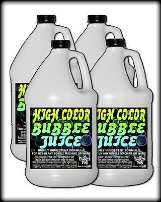 Froggys Fog - HIGH COLOR Bubble Juice - Strong Long-Lasting Iridescent Brilliant