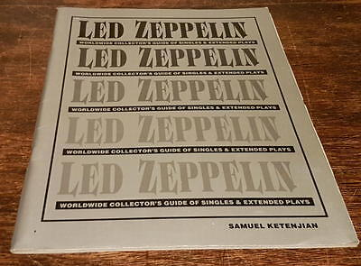 Led Zeppelin Worldwide Collector's Guide Of Singles & Extended Plays Ketenjian
