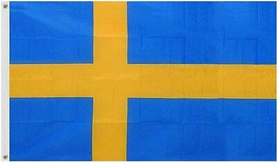 5' x 3' FLAG Sweden Swedish National Large Flags New