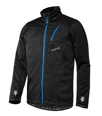 Bnwt Men's Cycling Bike Windproof Softshell Jacket High Visibility Size L 42/44