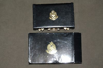 Hong Kong Police Leather Card Holder New In Box