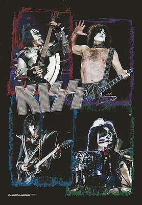 """Kiss Flagge / Fahne """"4 Live Pictures"""" Posterflagge Poster Flag"""
