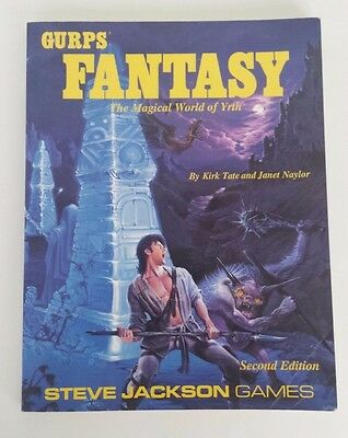 GURPS Fantasy the Magical World of Yrth RPG - 2nd Edition - Steve Jackson Games