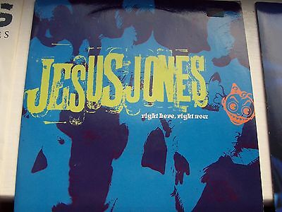 Jesus Jones, Right Here Right Now / Wecome Back Victoria. 1990 Food 45
