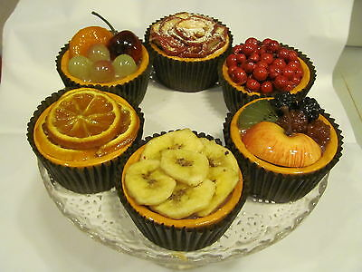 Fake French Bistro Patisserie Bakery  Artificial Cake Display Food Pasteries 11