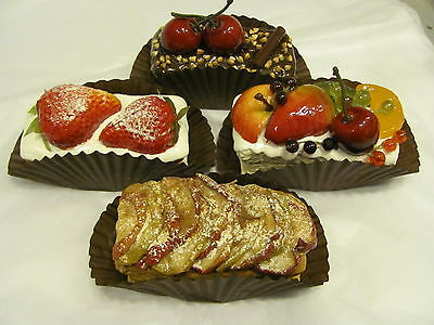 Fake French Bistro Patisserie Bakery Prop Artificial Cake Tea Room Display 9