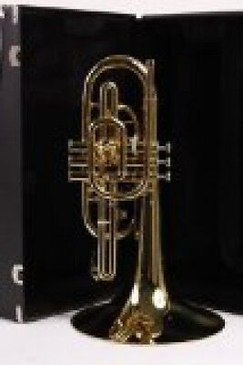 Blessing BM-100 Marching Mellophone, Lacquered Brass