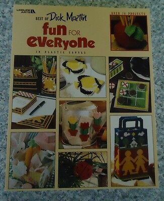 Fun for Everyone  Plastic Canvas Pattern Book 128 pages