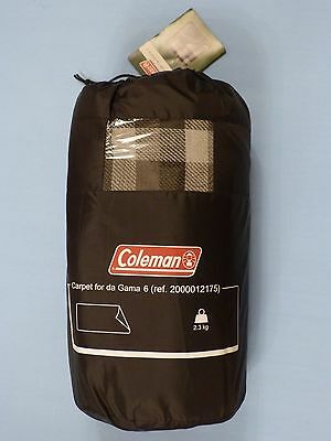 Coleman Carpet For Da Gama 6 Tent - In Storage Carry Bag - New With Tags