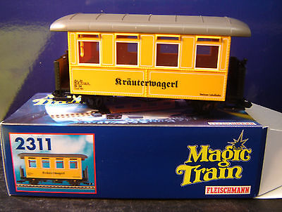 "Fleischmann Magic Train 0e 2311 Personenwagen ""Kräuterwagerl"" ""Neu""(AND)"