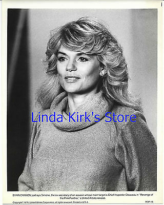 """Dyan Cannon Photograph As Simone """"Revenge of the Pink Panther"""" 1978"""