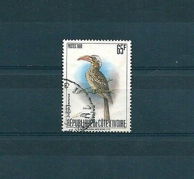 H268 Côte D'ivoire 1980 Nature Conservation Birds Very Fine Used