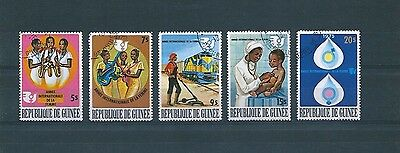 H328 Guinée 1976 International Year Of The Woman Full Set Fine Used