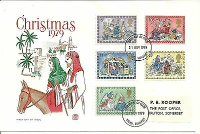 1979 - Christmas - First Day Cover (Stuart) - Used
