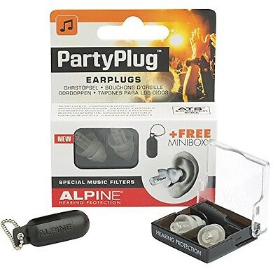 Alpine Hearing Protection Alpine PartyPlug Ear Plugs for Loud Music