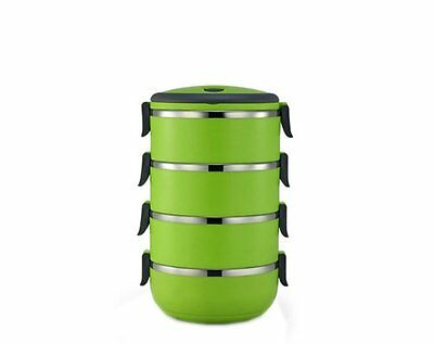 Ospard Stainless Steel Insulated Lunchbox 4, Green