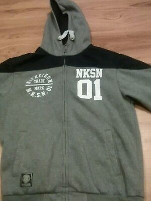 Boys nickelson tracksuit top aged 13-15 years