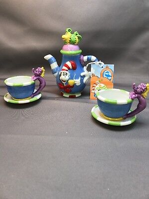 Dr Seuss  RARE Tea set The Wubbulous World of Dr. Seuss