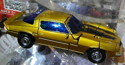 Transformers Movie Deluxe Takara Lawson Gold Metallic Classic Camaro Bumblebee