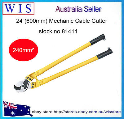 "24""(600mm) Cable Cutter Cutting Pliers Copper & Aluminium Up To 240m㎡-81411"