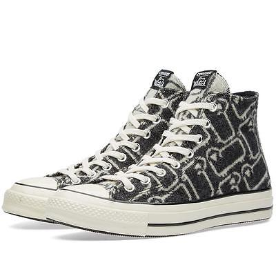 Converse WOOLRICH Wool Grey/Black Iconic SHEEP Hightop Shoes Unisex DISC NIB HTF