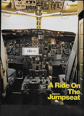 Frontier Airlines Boeing 737 Ride On A Jumpseat 3 Page Article Part #2