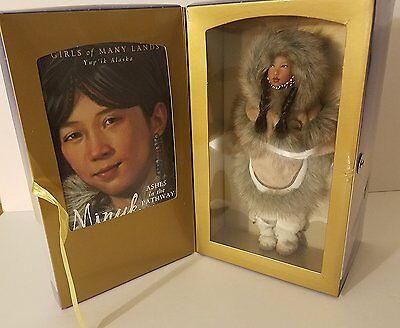 American Girl Saba Doll with Book Yup'ik Alaska from Girls of Many Lands Series